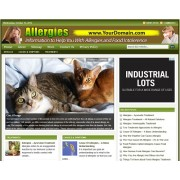 Allergies niche website