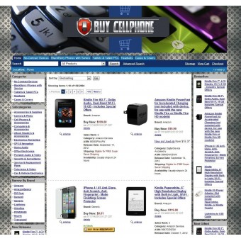 Amazon Cellphone Affiliate Store