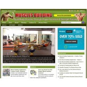 Muscle building niche website