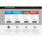 Social Reseller Website