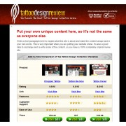 ClickBank Tatto Design Review Website