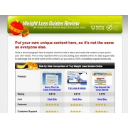 ClickBank Weightloss Review Website